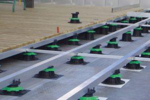 Adjustable floors